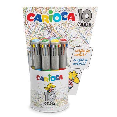 libreria scientifica cagliari 42762 sfera carioca maxi 10 colori fusto metalizzato