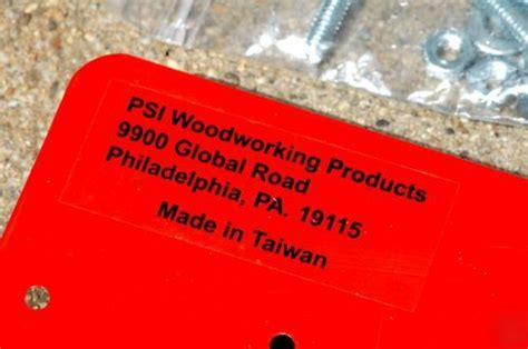 psi woodworking panel  sys pps    rails