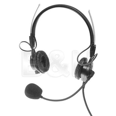 Headset Telex telex ph44 lightweight dual headset for rts f 01u 117 497 b h