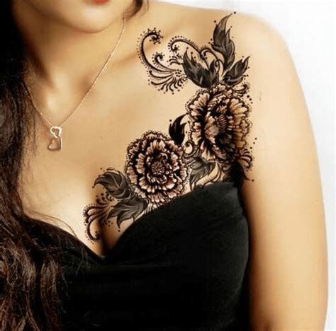 make tattoo at breast breast tattoo designs with pictures 40 designs