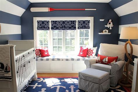 25 Brilliant Blue Nursery Designs That Steal The Show Nautical Room