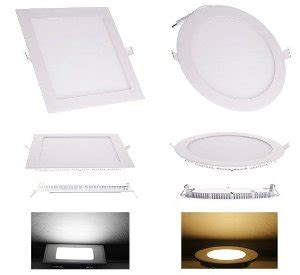 Jual Lu Downlight Emergency jual led downlight panel 12w baru lu hias unik dan emergency murah