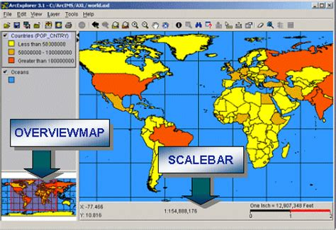 arcgis layout ruler map bar scale