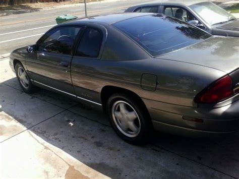 auto air conditioning repair 1996 chevrolet monte carlo navigation system find used 1996 chevy monte carlo ls 2 d v6 3 1l no reserve in moreno valley california