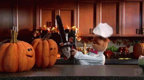 pumpkin carving time gif halloween pumpkins carving