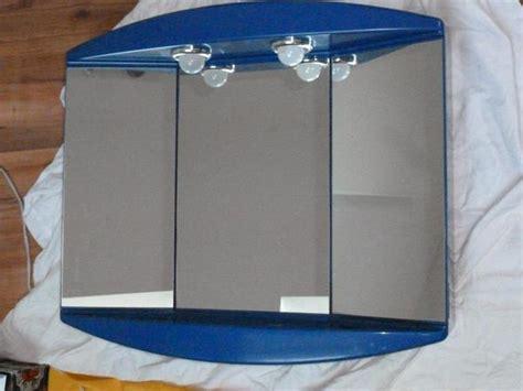 spiegelschrank kunststoff blau in gro 223 bettlingen bad