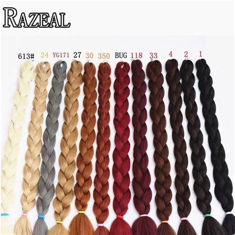 hair color chart for braids synthteic tressage cheveux expression tresses africaine