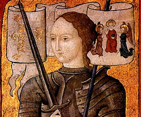 who is st history joan of arc biography childhood achievements