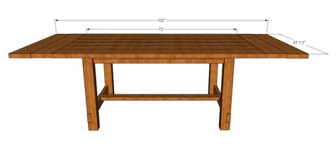 rustic dining table plans pdf diy rustic dining table plans sewing room
