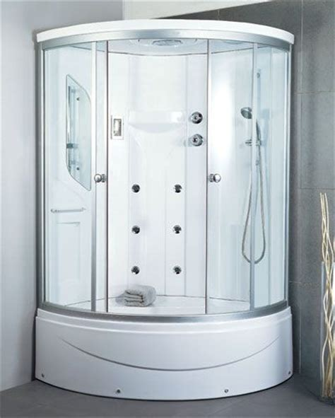 Shower Enclosure With Seat by 17 Ideas About Corner Shower Enclosures On