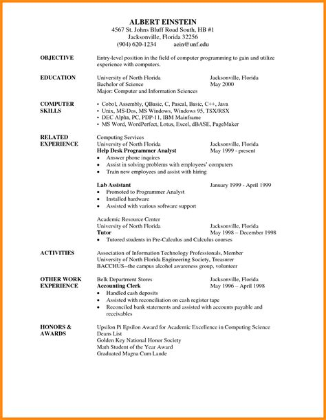 Format Of Writing Resume by 8 Cv Writing Format Reporter Resume