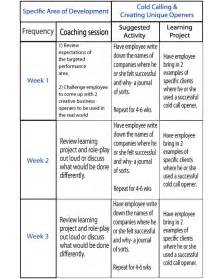 Coaching Plan Template For Teachers by Coaching Plan Exles