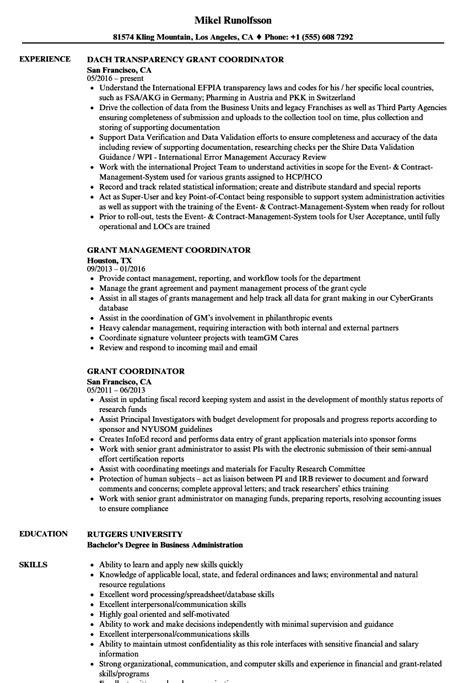 Grant Coordinator Sle Resume by Free Resume Templates 2014 Resume Writing Services In Atlanta Ga Best Type Of Resume