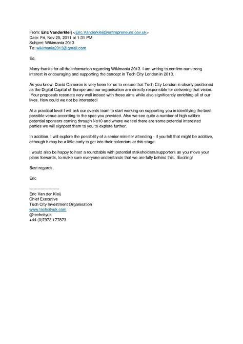 Letter Of Support For Partner Visa File Wikimania 2013 Letter Of Support Tech City Uk Pdf Meta