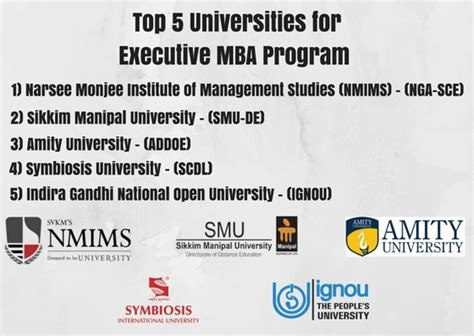 Amity Executive Mba by Executive Mba Emba Distance Education Delhi
