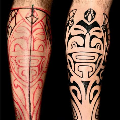 curved tribal tattoos age charm of polynesian tattoos ideatattoo