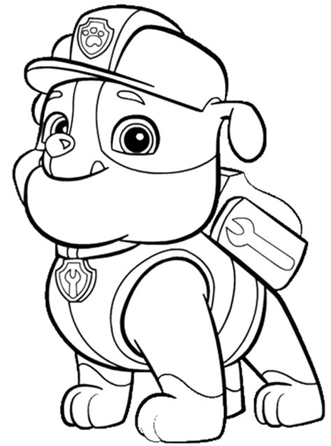 nick jr paw patrol printable coloring pages top 10 paw patrol nick jr coloring pages coloring pages