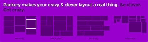 packery layout animation crazy and clever layout with packery js layout library