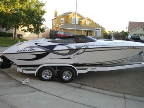 nordic whaler boat 2003 nordic 25 rage closed bow powerboat for sale in west