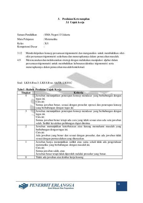 Konsep Penerapan Kimia 1 Smama Kelas X Peminatan Kur 2013 rpp matematika peminatan sma x bab 6