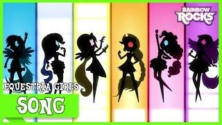 mlp equestria girls rainbow rocks exclusive short perfect day for fun