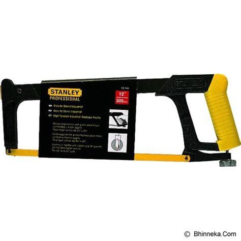 Jual Gergaji Tangan Harga jual stanley steel frame hacksaw 15 166 22 murah bhinneka