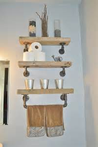reclaimed barn wood shelves reclaimed barn wood bathroom shelves