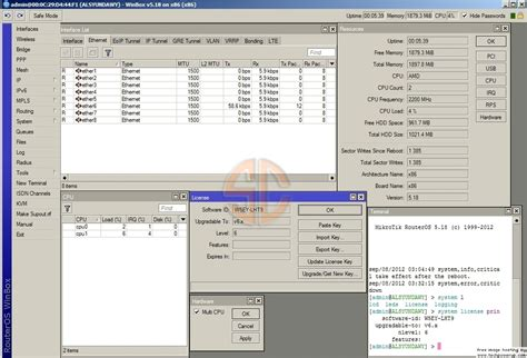 mikrotik routeros v5 20 cracked license level 6