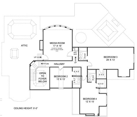 Colonial House Plan With 4 Bedrooms And 4 5 Baths Plan 7395 Dfd House Plans