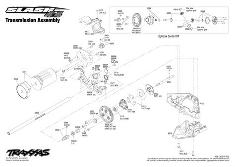 St Rally Differential Front Or Rear Diff Slash Stede Traxx traxxas slash 4x4 parts diagram traxxas get free image
