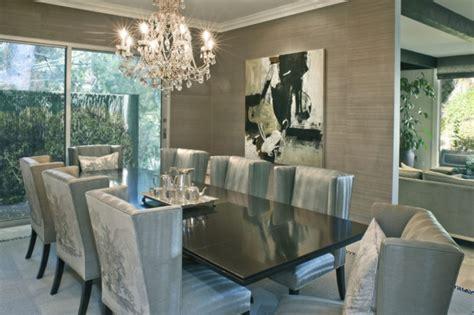 graue stühle esstisch dekor esszimmer grau