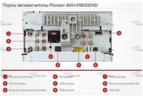 pioneer avh p6400cd wiring diagram pioneer avh x3500bhs