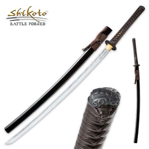 united black shikyo katana swords for sale