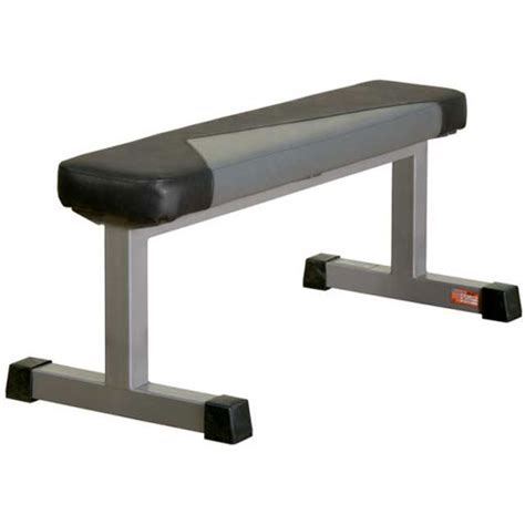 flat bench with rack expert leisure benches racks sportsart a901 10 pair