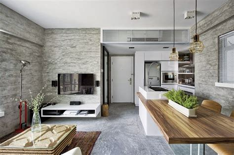 decoracion entrada casa interior interior de una casa moderna en gris