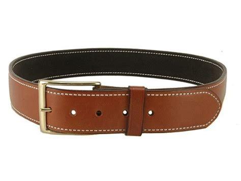 desantis plain holster belt 1 3 4 brass buckle suede lined