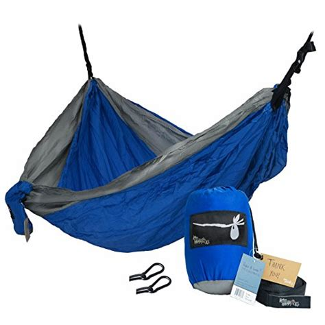 Webing Tubular Webing Untuk Hammock hobo hammocks portable cing hammock webbing straps and carabiners included for