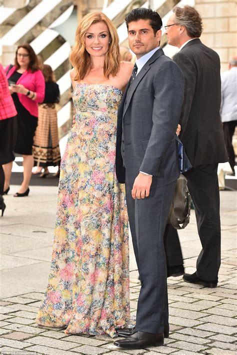 katherine jenkins and husband andrew levitas enjoy first katherine jenkins joins husband andrew levitas at royal