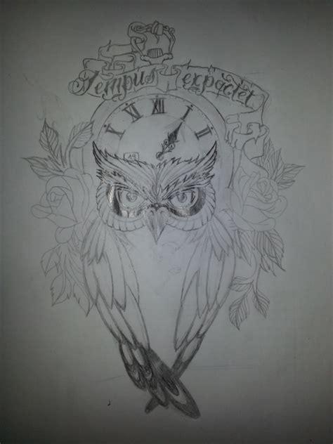 tattoo zeichnen app beamerbenzorbentley skizze quot tempus expactet nemo