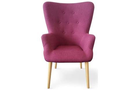 fauteuil scandinave violet dorig design pas cher sur sofactory