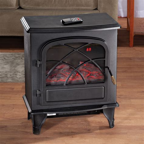 fireplace heater with remote portable fireplace easy