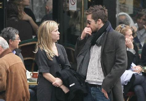 The Scoop On Reese And Jake by Jake Gyllenhaal And Reese Witherspoon Photos Photos