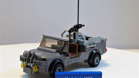 modern army jeep lego modern jeep moc