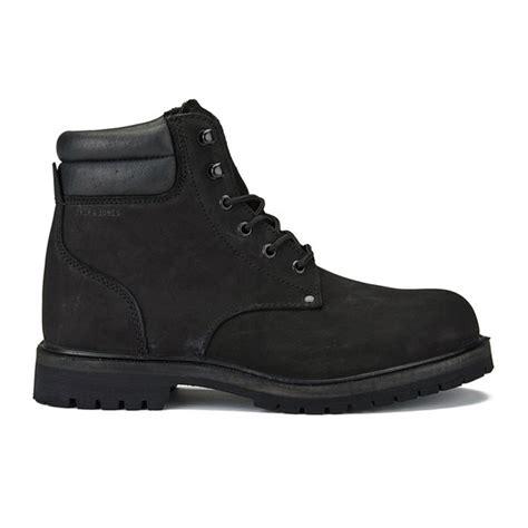 jones s stoke nubuck boots black mens