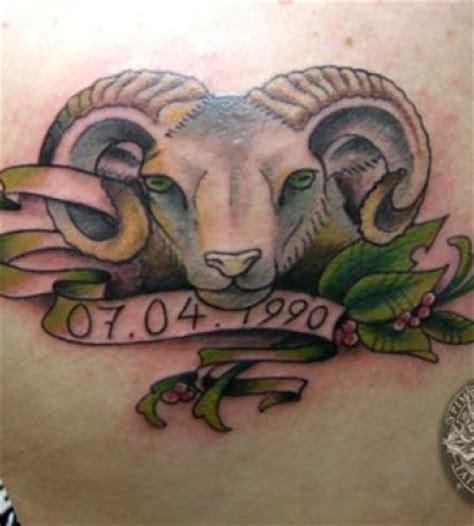 20 Cool Aries Tattoos Hative Aries Ram Tattoos For