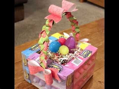 Paper Decorations To Make At Home homemade easter basket decorating ideas youtube
