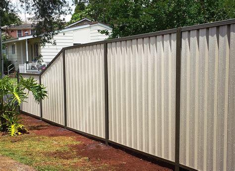color bond traditional colorbond fencing homestead fencing