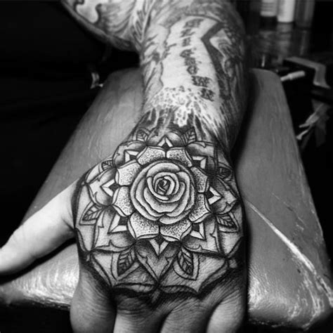 mandala tattoo rose tattoos on instagram