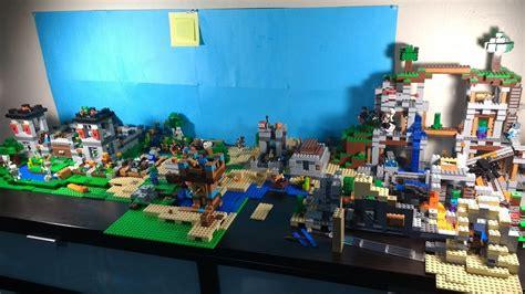 youtube lego layout lego minecraft world layout september 8 2017 youtube
