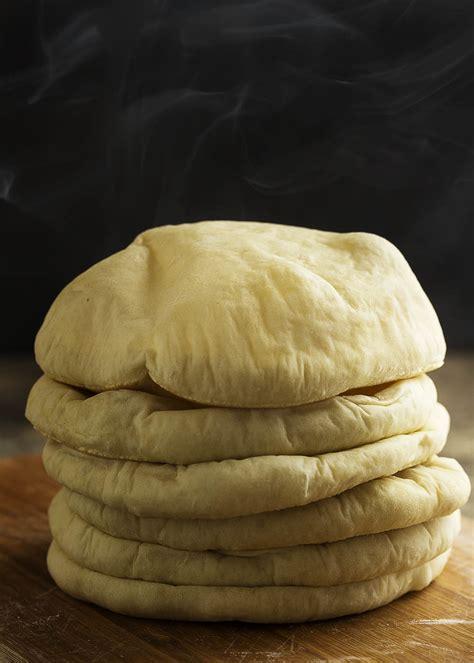 Pita Handmade - how to make pita bread just a bit